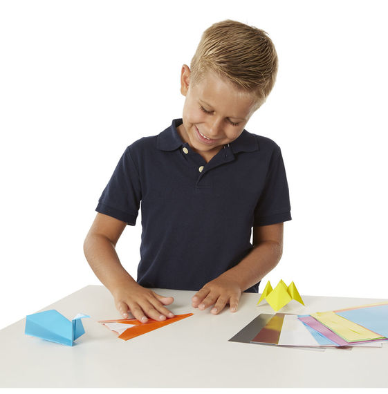 Printable Origami Bunny Page
