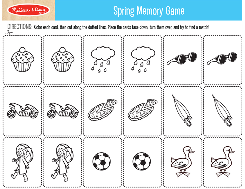 2 FREE Printables for Spring Crafts! | Melissa & Doug Blog