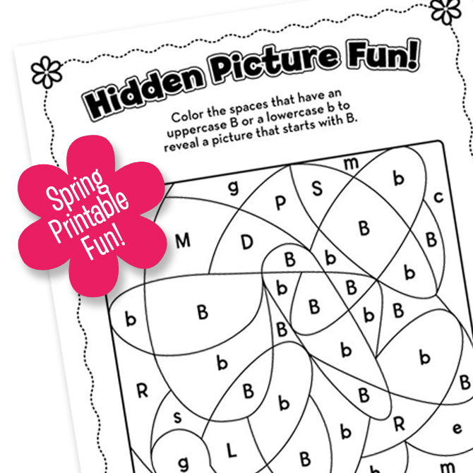 Spring Printable FUN! Part One