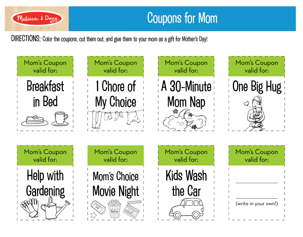 Coupons for Mom Printable