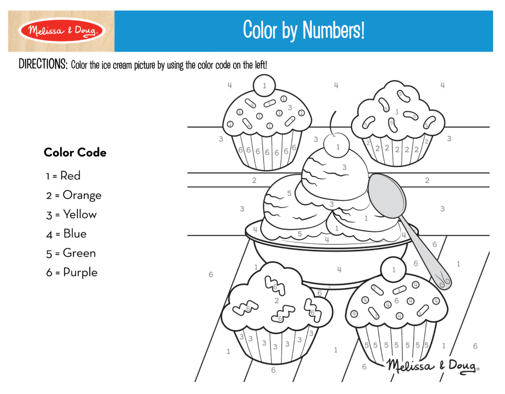 Color by Numbers Printable