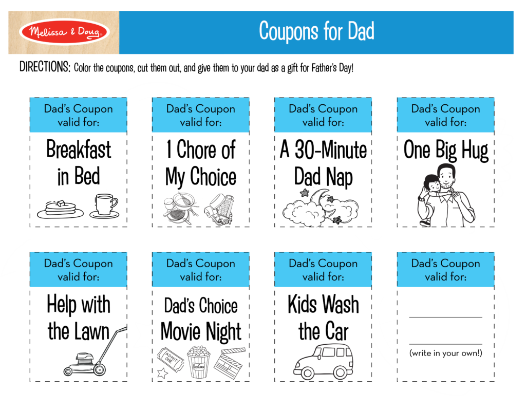 3 Free Father\'s Day Printables That Make Great Gifts for Dad ...